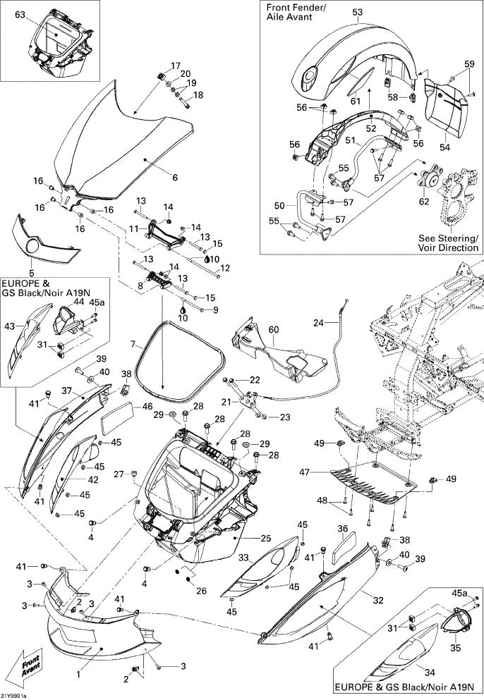 Carrosserie Et Accessoires Front_SM5 Manual