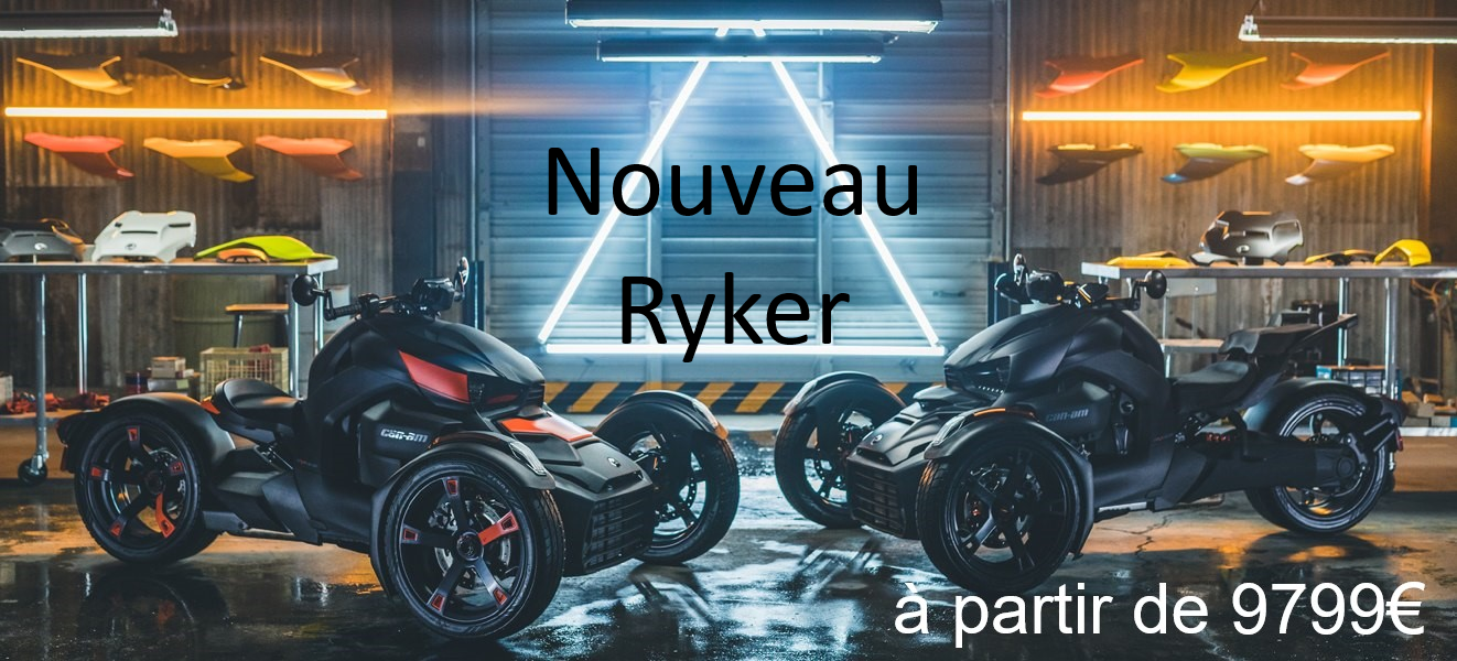Nouveau Ryker 2019